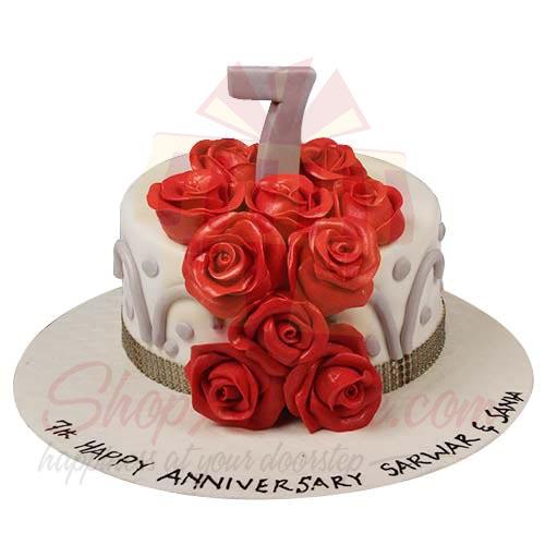 7th Anni Cake 6lbs-Sachas