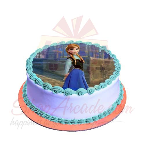 Anna Picture Cake 2lbs-Sachas
