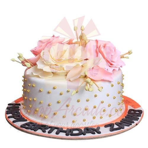 Rose Cake 5lbs-Sachas