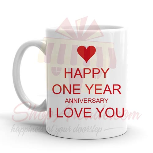 One Year Anni Mug