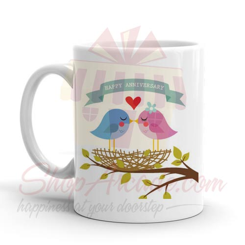 Bird Anni Mug