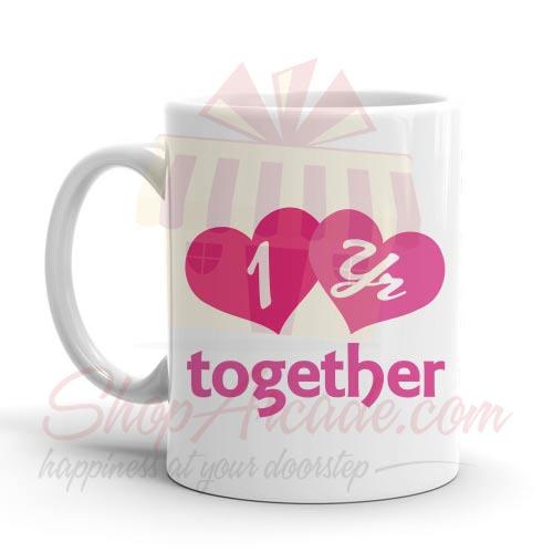 1st Year Together Anni Mug