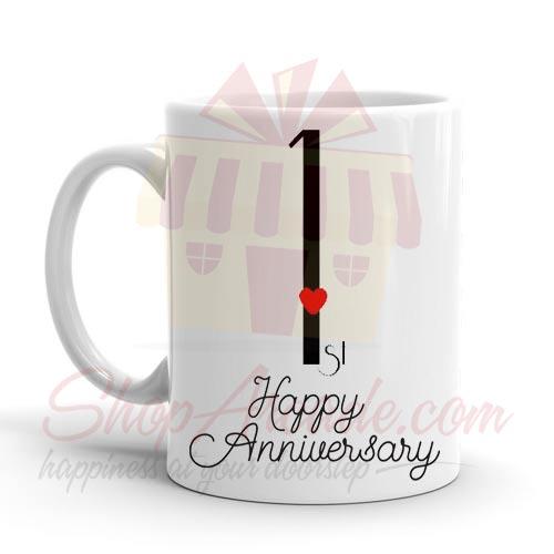 1st Anniversary Mug