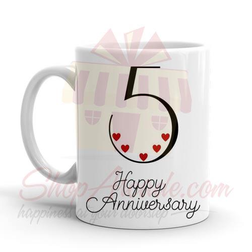 5th Anniversary Mug