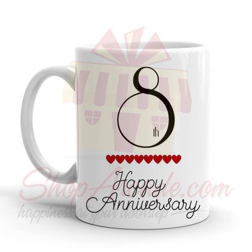 8th Anniversary Mug