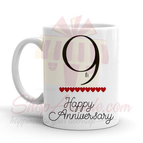 9th Anniversary Mug
