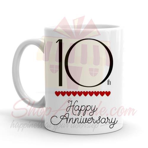 10th Anniversary Mug