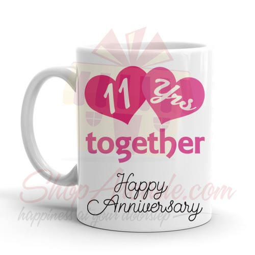 11th Anniversary Mug
