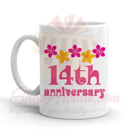 14th Anniversary Mug
