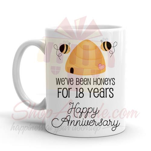 18th Anniversary Mug