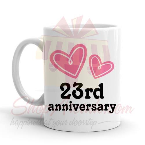 23rd Anniversary Mug