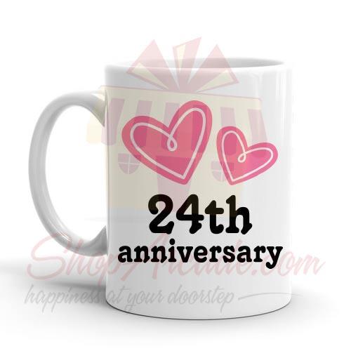 24th Anniversary Mug