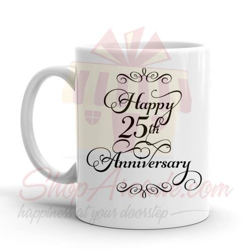 25th Anni Mug