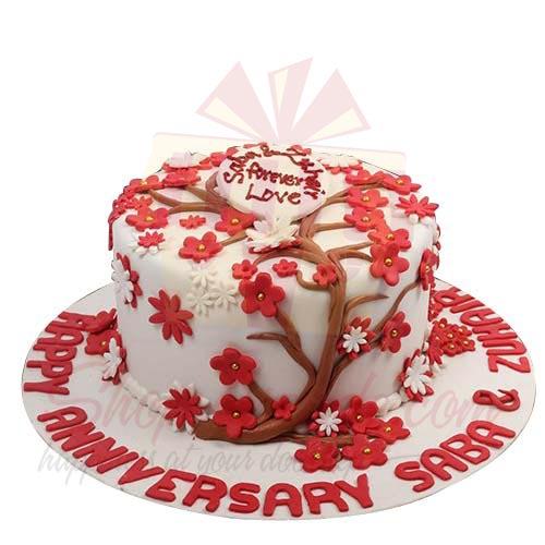 Red Tree Cake 5lbs-Sachas