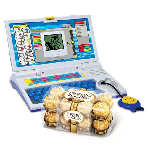 Learning Laptop With Ferrero