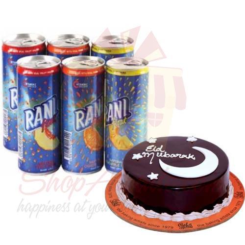 Rani Juice With Eid Cake
