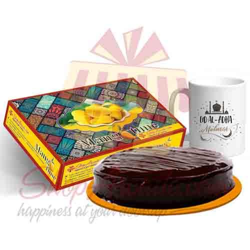 Mango Mug And Cake For Eid