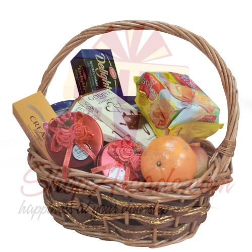 Seasonal Wishes Basket