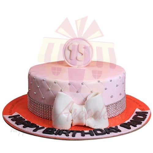 15 Birthday Cake 4lbs-Sachas