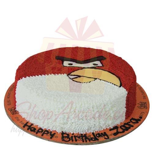 Angry Bird Cake 3lbs-Sachas
