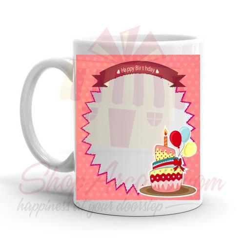 Birthday Photo Mug