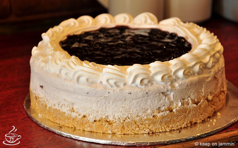 Berry Cheese Cake (3.5 lbs) - Jammin Java