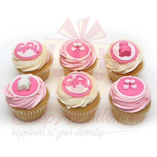 Baby Cupcakes (6 Pcs)