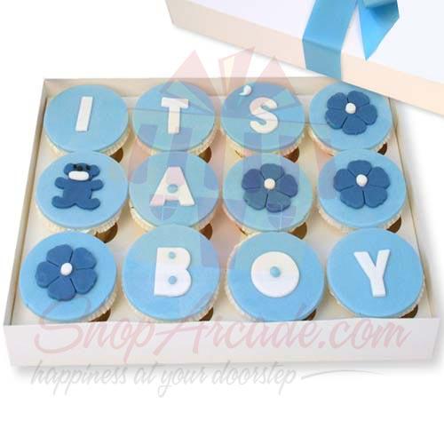 Baby Cupcakes (12 Pcs)