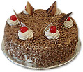 Black Forest Cake 64 lbs from Avari Hotel