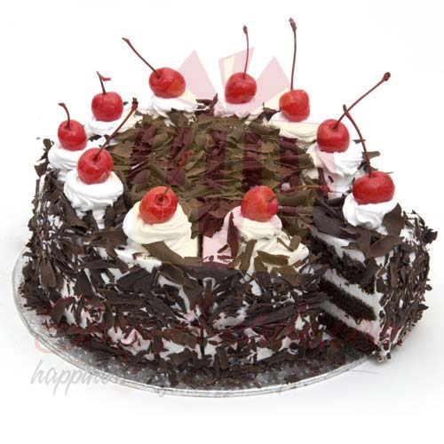 Black Forest Cake 2lbs-Le Cafe