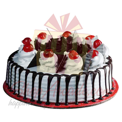 Black Forest Cake 2Lbs - Cake Lounge