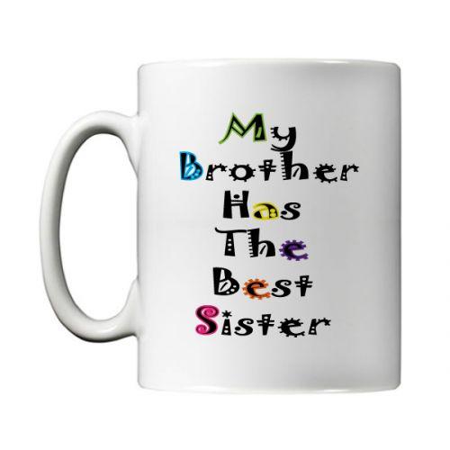 Brother Sister Mug