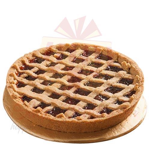 Cherry Linzer Torte 2lbs Sky Bakers