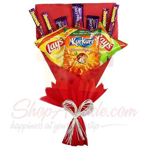 Chips Choco Bouquet