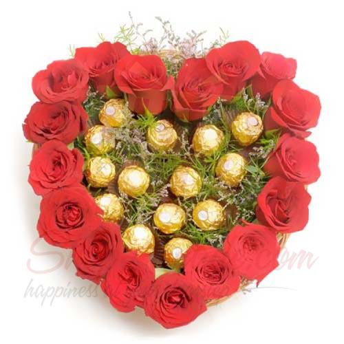 Rose Ferrero Heart