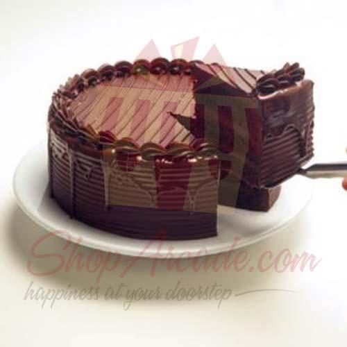 Chocolate Fudge Cake 2lbs-Le Cafe