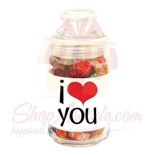 Love Choc Jar