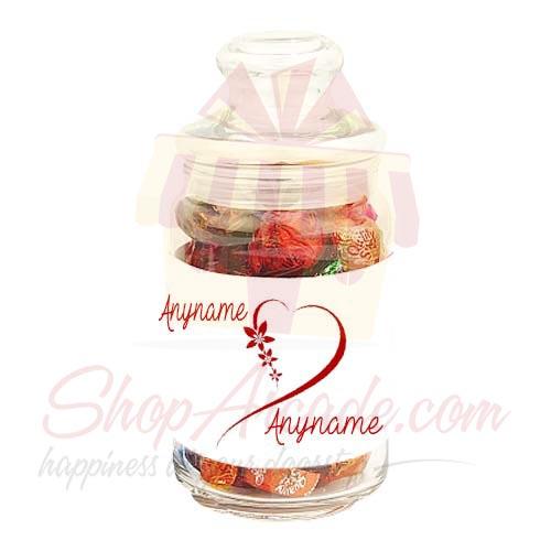Custom Choco Jar