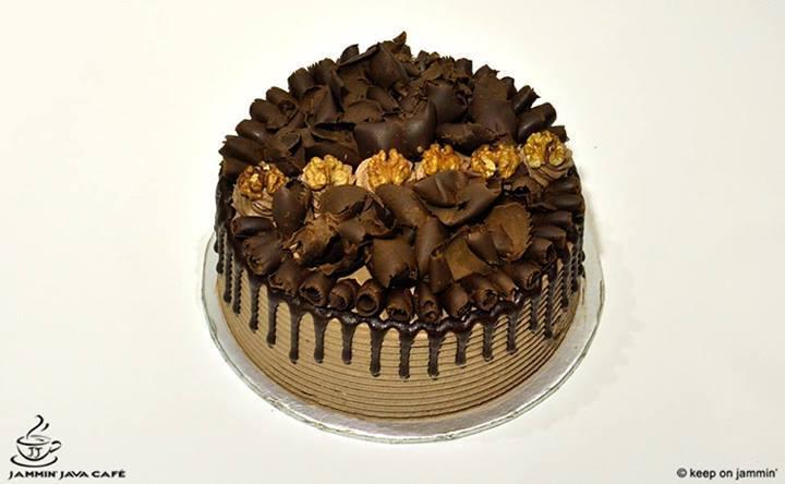 Chocolate Caramel Cake  (3.5 lbs) - Jammin Java