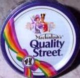 Quality Street Out of Stock