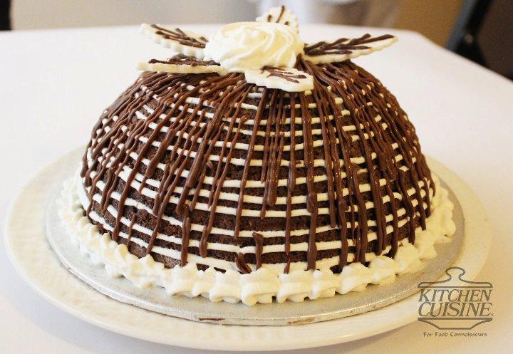 Chocolate Ice Cream Bombe Cake from Kitchen_Cuisine