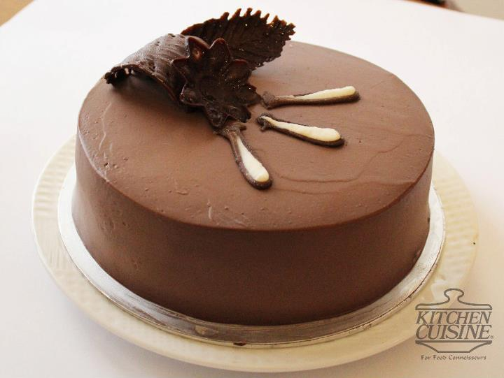 Chocolate Mousse Layer Cake 2lbs from Kitchen_Cuisine