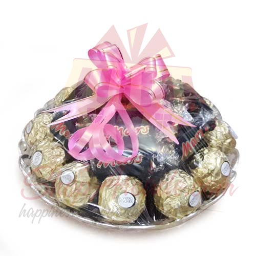Rocher And Mars Tray