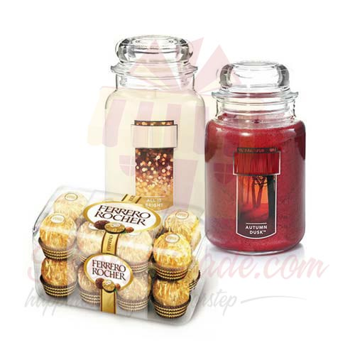 Chocs With Candles