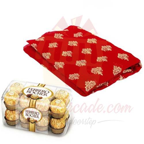 Ferrero With Red Suit