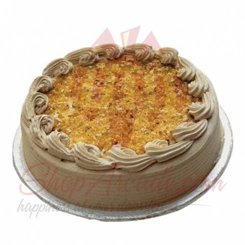 Coffee Crunch Cake - My New Italian Bakery
