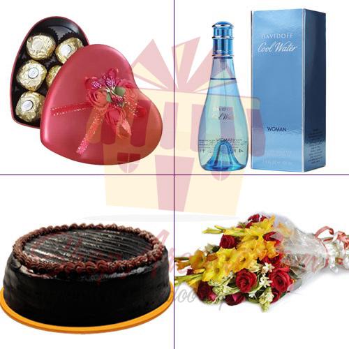 Perfume Flower Cake Chocolates