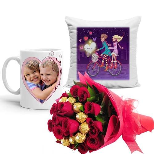 ferrero-bouquet-with-cushion-with-mug