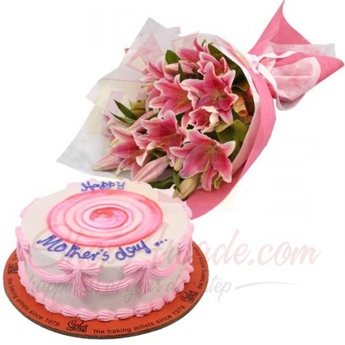 mothers-day-cake-with-lilies