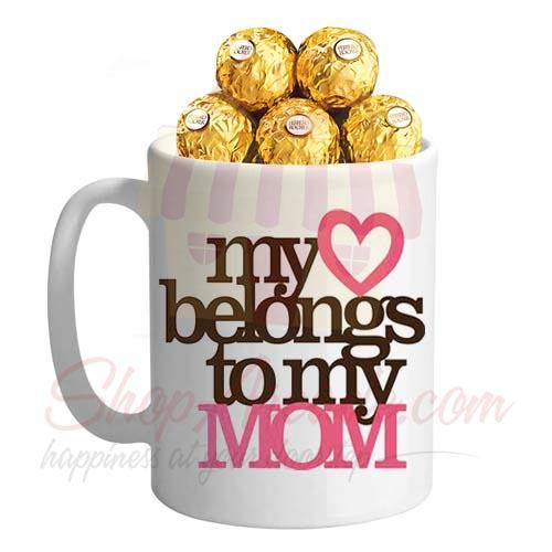 Chocs In A My Mom Mug